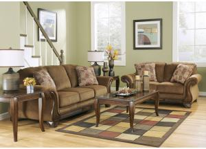 Montgomery Mocha 7PC Living Room Set,Direct & More Furniture