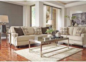 Brielin Linen 6PC Living Room Set,Direct & More Furniture