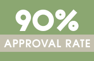 90% approval ad
